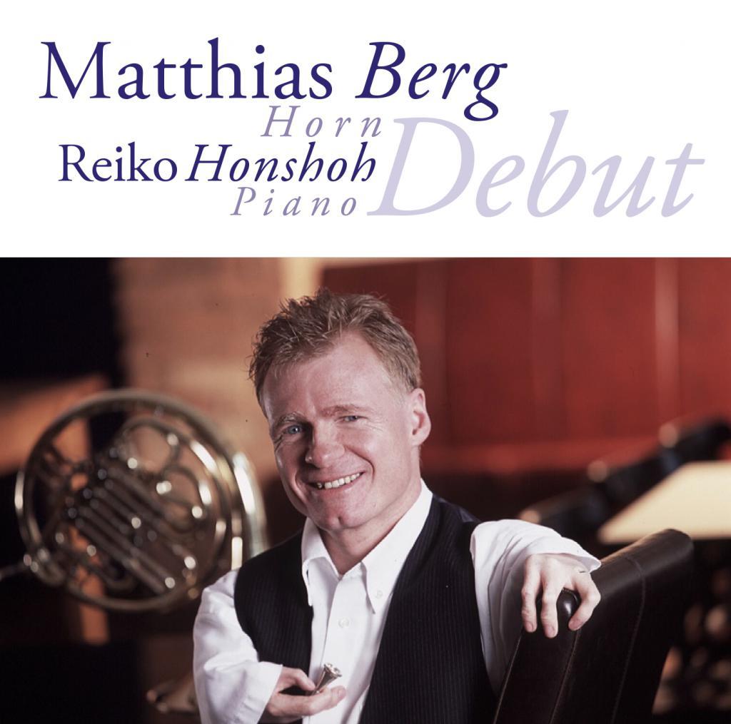 Matthias Berg - Debut